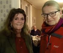Omi Söderblom och Anna Skarhed